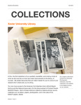 Xavier University Library Collections Newsletter Volume 1 Issue 1 by Nancy Hampton
